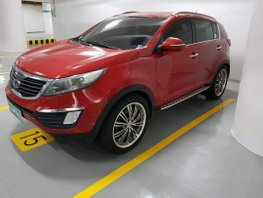 Sell Red 2012 Kia Sportage in Quezon City