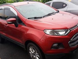 Selling Red Ford Ecosport 2014 Manual Gasoline