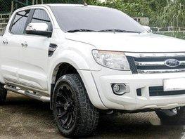 Sell White 2013 Ford Ranger at 44000 km