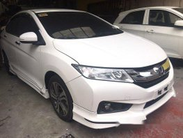 Selling White Honda City 2016 Automatic Gasoline
