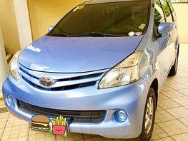 Blue Toyota Avanza 2013 for sale in Parañaque