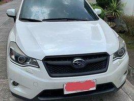 White Subaru Xv 2013 at 46000 km for sale