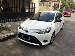 White Toyota Vios 2014 at 62224 km for sale