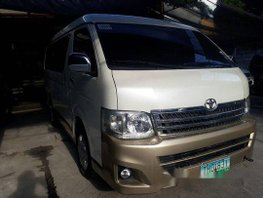 Sell White 2011 Toyota Hiace in Parañaque