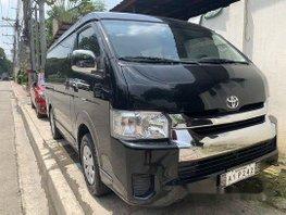 Sell Black 2018 Toyota Hiace at 6000 km