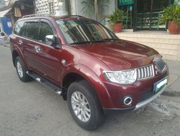 Sell Red 2012 Mitsubishi Montero Automatic Diesel in Makati