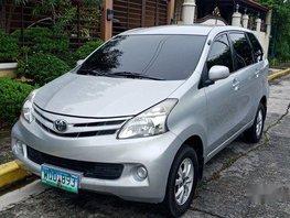 Silver Toyota Avanza 2014 Automatic Gasoline for sale