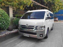 Sell White 2015 Toyota Hiace