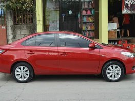 Red 2014 Toyota Vios at 20000 km for sale