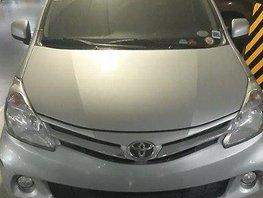 Selling Silver Toyota Avanza 2014 Automatic Gasoline at 45000 km