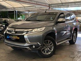 Grey Mitsubishi Montero Sport 2017 for sale in Makati