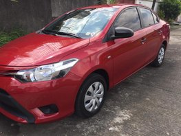 Selling Red Toyota Vios 2016 at 18000 km in Las Pinas
