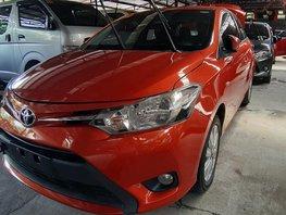 Orange Toyota Vios 2017 for sale in Quezon City