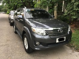 Used 2012 Toyota Fortuner Gasoline Automatic for sale