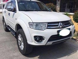 Selling White Mitsubishi Montero Sport 2014 at 51000 km in Laguna
