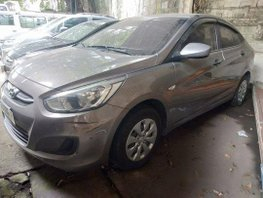 Grey Hyundai Accent 2018 Manual Gasoline for sale