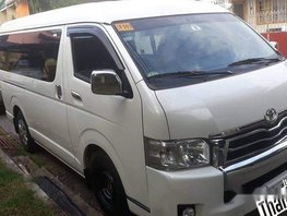 Selling White Toyota Hiace 2018 in Taguig