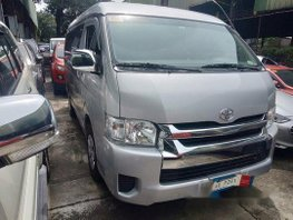 Silver Toyota Hiace 2018 at 17000 km for sale