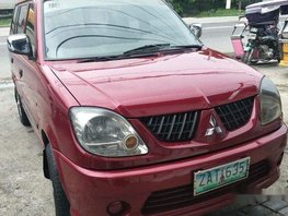 Selling Red Mitsubishi Adventure 2006 at 85000 km