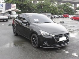 Sell Black 2016 Mazda 2 Automatic Gasoline at 28673 km