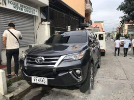 Grey Toyota Fortuner 2017 at 23000 km for sale