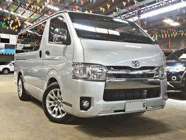 Silver 2015 Toyota Hiace Diesel Manual for sale