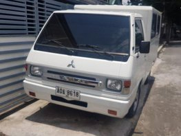 White Mitsubishi L300 2014 Manual Diesel for sale