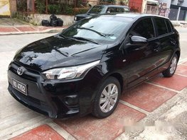 Black Toyota Yaris 2017 at 26000 km for sale