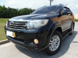 2nd Hand 2014 Toyota Fortuner for sale in Quezon City