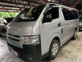 Selling Silver Toyota Hiace 2018 in Quezon City