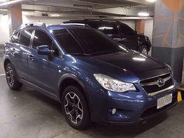 Blue 2015 Subaru Xv Automatic Gasoline for sale