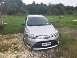 Silver Toyota Vios 2014 Manual Gasoline for sale