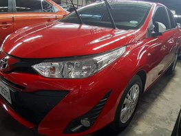 Red Toyota Yaris 2018 Manual at 9600 km for sale