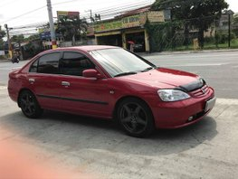 Red Honda Civic 2002 Sedan for sale in Imus