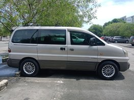 Silver Hyundai Starex 2005 at 89000 km for sale in Imus