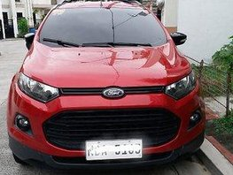 Sell Red 2017 Ford Ecosport at 16512 km