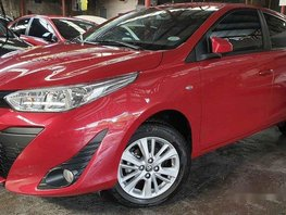 Red Toyota Yaris 2018 for sale