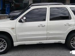 Sell White 2007 Mazda Tribute in Quezon City
