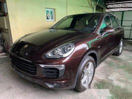 Brown Porsche Cayenne 2017 at 1000 km for sale
