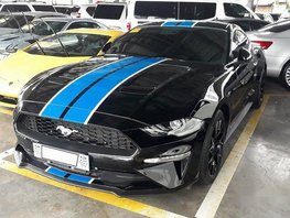 Black Ford Mustang 2019 Automatic Gasoline for sale