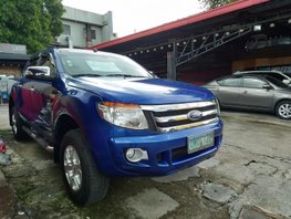Sell Blue 2013 Ford Ranger Manual Diesel at 72000 km