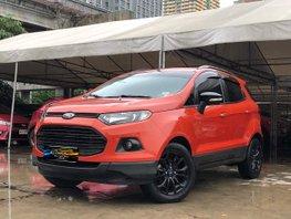 Selling Orange 2016 Ford Ecosport 1.5L Titanium Black Edition AT