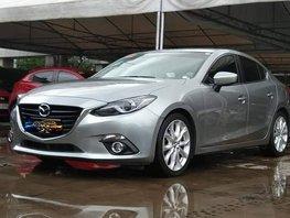 Silver 2015 Mazda 3 2.0 R Sedan Skyactiv AT for sale in Makati