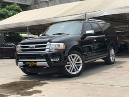 Black 2016 Ford Expedition Platinum Ecoboost V6 for sale in Makati