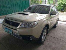 Silver Subaru Forester 2010 Automatic Gasoline for sale