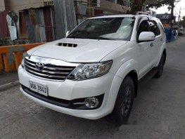 White Toyota Fortuner 2015 for sale in Marikina