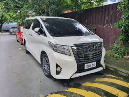 2015 Toyota Alphard for sale in Quezon City