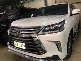 White Lexus Lx 2017 at 5000 km for sale