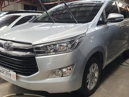 Silver Toyota Innova 2016 Automatic at 18000 km for sale