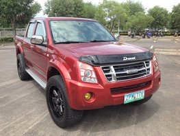 Red Isuzu D-Max 2008 for sale in Lucena